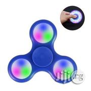 Fidget Spinner With Led Light - Red, Blue, Black | Toys for sale in Lagos State, Lagos Mainland