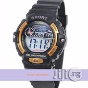 Electronic Watch Digital Silicone Band Wrist - Waterproof | Watches for sale in Lagos State, Epe