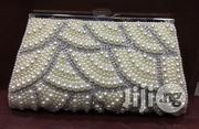 Pearl Beaded Crystal Embellished Clutch Purse Bag | Bags for sale in Lagos State, Lekki Phase 1