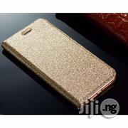 iPhone 7 Phone Case for Apple Gold Glittering Wallet Flip | Accessories for Mobile Phones & Tablets for sale in Edo State