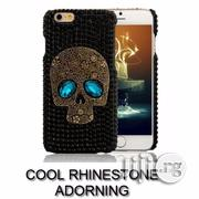 iPhone 6 Plus Case Skull and Rhinestone Design | Accessories for Mobile Phones & Tablets for sale in Edo State