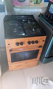 Maxi Gas Cooker Three Gas One Eletric With Oven 60by60 | Restaurant & Catering Equipment for sale in Abuja (FCT) State, Gwagwalada