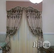 Gold and Brown Color Curtain | Home Accessories for sale in Lagos State, Ikeja