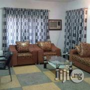 Silver And Black Color Curtains | Home Accessories for sale in Lagos State, Ikeja