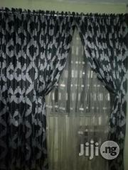 Black and White Color Thick Curtain | Home Accessories for sale in Lagos State, Ikeja