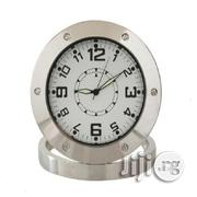 Spy Camera Analog Alarm Table Clock   Security & Surveillance for sale in Lagos State, Ikeja