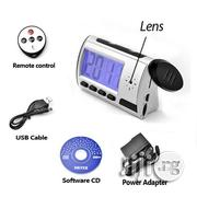 Spy Camera Digital Alarm Table Clock - Silver   Security & Surveillance for sale in Lagos State, Ikeja