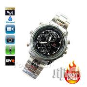 32gb Spy Camera Chain Wrist Watch - Silver | Security & Surveillance for sale in Lagos State, Ikeja