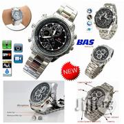 8gb Spy Camera Chain Wrist Watch - Silver | Security & Surveillance for sale in Lagos State, Ikeja