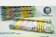 Gerber Baby Washcloths (Pack Of 8) | Baby & Child Care for sale in Lagos State, Ikeja