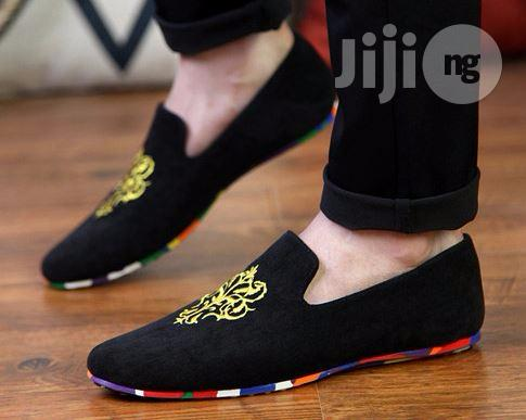 Archive: Embroidered Loafers