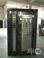 4ft Stainless Black Glass Door   Doors for sale in Lagos State, Amuwo-Odofin