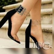 Black Block Heel   Shoes for sale in Rivers State, Obio-Akpor