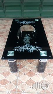 High Quality And Unique Temperd Glass Center Table Black And Brown | Furniture for sale in Lagos State, Ojo