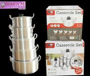 Sumo Premium Cookware Casserole Set - Set Of 5 Pots - S-6021 | Kitchen & Dining for sale in Lagos State, Alimosho
