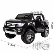 Ford Ranger Licensed 12v Ride On Toy Car With Leather Seats | Children's Gear & Safety for sale in Lagos State
