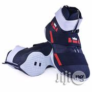 Jb Basketball Shoes in Blue White   Sports Equipment for sale in Lagos State, Lagos Island