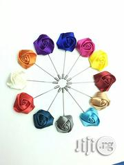 USA Unibuy 1 Pc Men's Lapel Pin Set With Handmade Flower Boutonniere | Clothing Accessories for sale in Lagos State, Alimosho