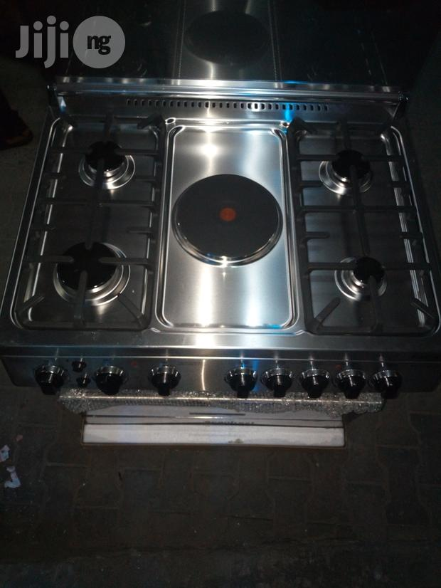 Scanfrost (4+1) Anti Rust Cooker,Oven Grill With 2yrs Warranty.