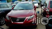 Tokunbo Lexus RX 350 2012 Red | Cars for sale in Lagos State, Apapa