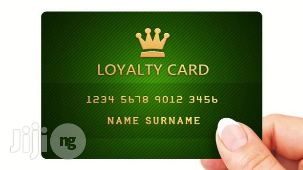 We Make Loyalty Cards In Nigeria