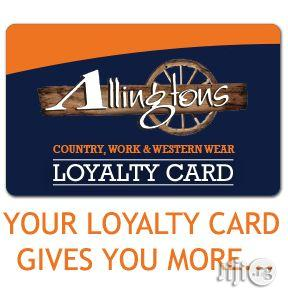 Nigeria's Number One Manufacturer Of Loyalty Card