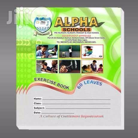 Customized Exercise Note Books For Schools