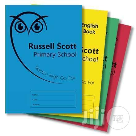Personalize/Customized Exercise Notebook For Schools