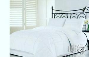 White Duvets And Bedsheet