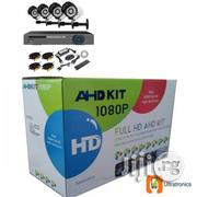 AHD 4 Chanels CCTV Combo Kit With Internet Phone Remote Viewing | Security & Surveillance for sale in Lagos State, Ikeja