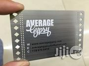 Stainless Steel Business ID Card | Stationery for sale in Lagos State, Ikeja