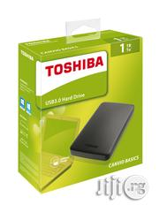 Toshiba Canvio Basics 1TB Portable Hard Drive - Black | Computer Hardware for sale in Lagos State, Ikeja