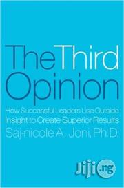 The Third Opinion By Saj-nicole Joni | Books & Games for sale in Lagos State, Ikeja