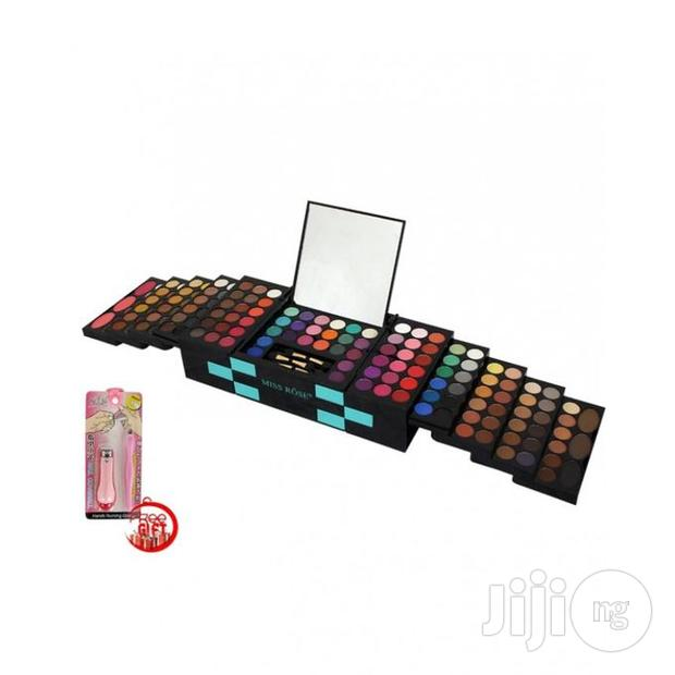 Miss Rose Miss Rose 2 In 1 Professional Makeup Palette 3D With 142