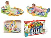 Fisher Price Discover N Grow Kick and Play Piano Gym Musical Fun | Musical Instruments & Gear for sale in Lagos State, Ikoyi