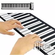 Flexible Piano Roll Up Digital Electronic Keyboard With USB And Record | Computer Accessories  for sale in Lagos State