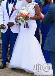 Neatly Used Gown for Sale-White Mermaid | Wedding Wear for sale in Oyo State, Ibadan