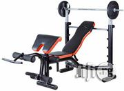 Weight Bench (50kg Weight) | Sports Equipment for sale in Lagos State, Lekki Phase 1