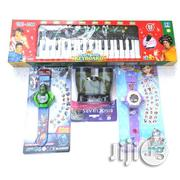 Kids Piano With Microphone + The Avenger + Sofia The First Projector W | Toys for sale in Lagos State, Surulere