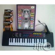Kids' Piano With Microphone Tom Cat Intelligent Dialogue 3D | Toys for sale in Lagos State, Surulere