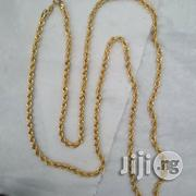 Original ITALY 750 18karat Gold Twisted Design | Jewelry for sale in Lagos State, Lagos Island