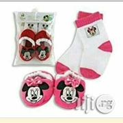 Mickey And Minne Mouse Baby Socks And Boots | Children's Clothing for sale in Lagos State, Ikeja