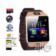 Smart Phone Watch- Make Calls Bluetooth Android Smartwatch-Sim Card | Smart Watches & Trackers for sale in Edo State, Oredo
