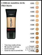 Original l'Oreal Infallible Pro-Mate Foundation   Makeup for sale in Lagos State