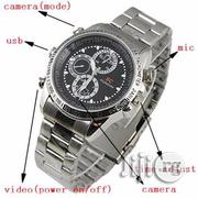 Spy Camera Wrist Watch With Voice Recorder | Security & Surveillance for sale in Lagos State, Ikeja