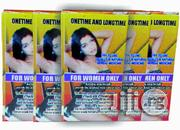 One Time/ Long Time- Female (Couples) Sexual Enhancer- 3 Bottles | Sexual Wellness for sale in Lagos State, Lagos Mainland