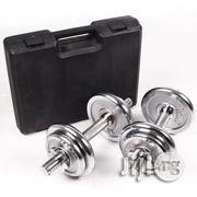 Fitness 20kg Dumbbell With Case | Sports Equipment for sale in Lagos State, Lagos Mainland