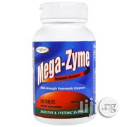 Mega-Zyme Systemic Pancreatic Digestive Enzymes for Digestion Problems | Vitamins & Supplements for sale in Lagos State, Lekki Phase 2