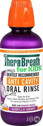 Therabreath for Kids Dentist Recommended Anti Cavity Fluoride + Xylito | Vitamins & Supplements for sale in Lagos State, Lagos Mainland