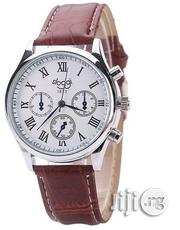 Men's Brown Leather Wrist Watch   Watches for sale in Lagos State, Ikeja